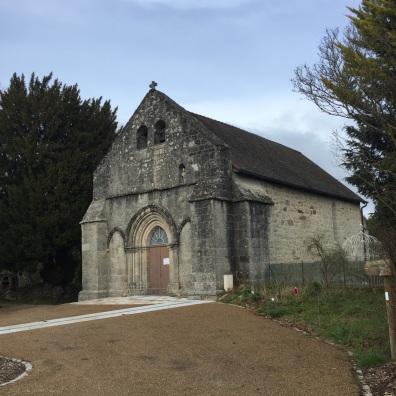 L'église de Cheissoux