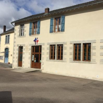 La mairie de Cheissoux
